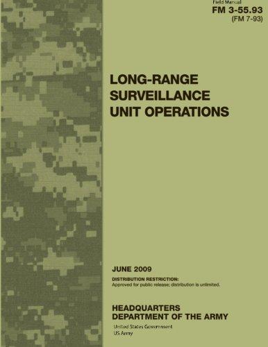 Field Manual FM 3-55.93 (FM 7-93) Long-Range Surveillance Unit Operations June 2009