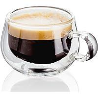 Judge Taza de Cristal café expreso, Transparente, 75ml