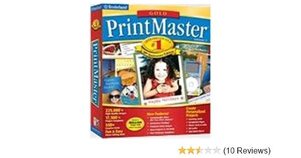 BRAND NEW IN BOX! PRINTMASTER 18 GOLD Print Master Desktop Publishing Software