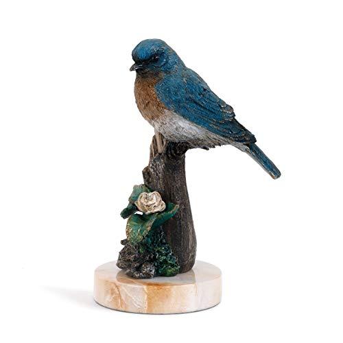 DEMDACO Big Sky Carvers Bluebird in Spring Sculpture