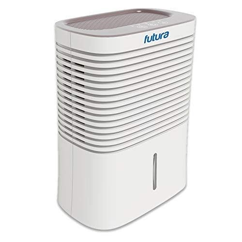 Futura 2000ml Portable Air Dehumidifier for Mildew Moisture and Mould Timer...