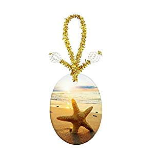 41J3pS-0N%2BL._SS300_ 100+ Best Seashell Christmas Ornaments