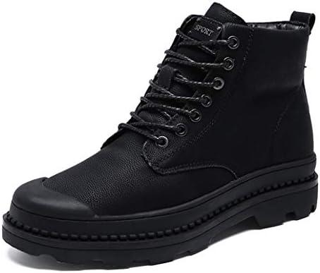 歩きやすい マーティンブーツ デザートブーツ メンズ 裏起毛 耐磨耗 ハンサム イングランド風 冬靴 通勤ショートブーツ カジュアル 安定感 キャンプ ウォーキング 雪靴 大きいサイズ 綿靴 ハイキングブーツ