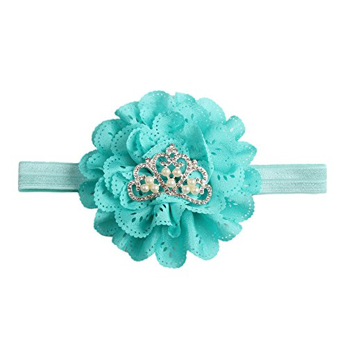 Clearance! Toddler Kids Baby Girl Cute Floral Crown Girls Headbands Hairband Newborn Hair Accessories (Blue)