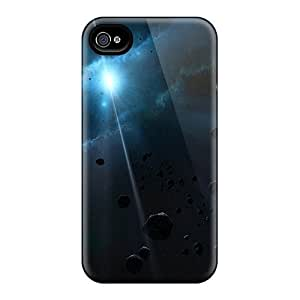 Durable Defender Cases Iphone 4/4S (space)