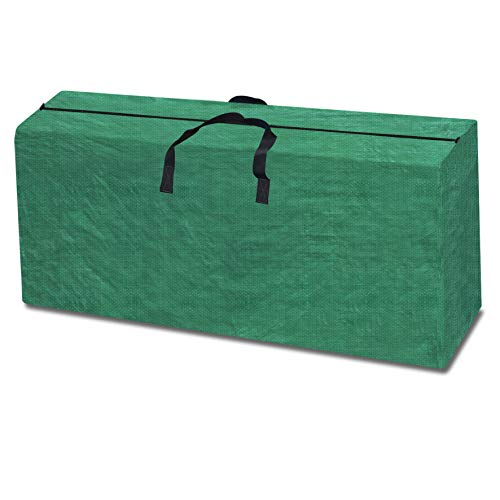 Strong Camel Heavy Duty Large Artificial Christmas Tree Storage Bag for Clean Up Holiday Green Up to 9ft (Green) ()