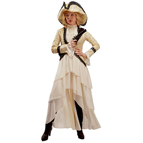 - Women's Noble Pirate Fancy Dress Costume White