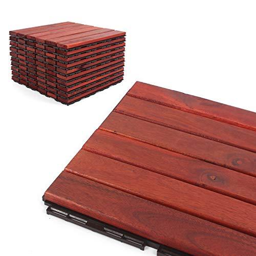 Deck Tiles - Patio Pavers - Acacia