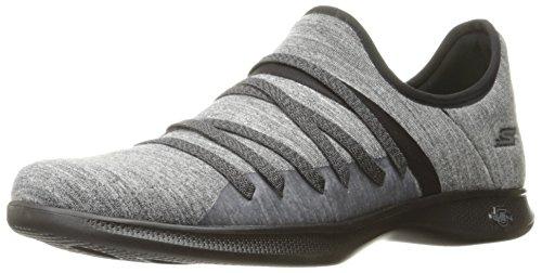 Skechers Lite Gray Step Go Womens 14751 Black UZUTpwz