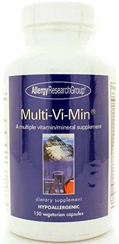 Allergy Research Group Multi-Vi-Min 150 Vegetarian Capsules