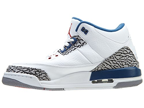 official photos 36dbc bcc9f ... Nike Air Jordan 3 Retro BG Zapatillas de deporte, Niños White   True  Blue ...