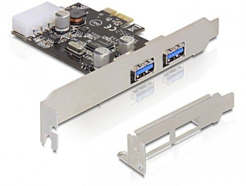 DeLOCK card pci express -> 2x USB 3.0