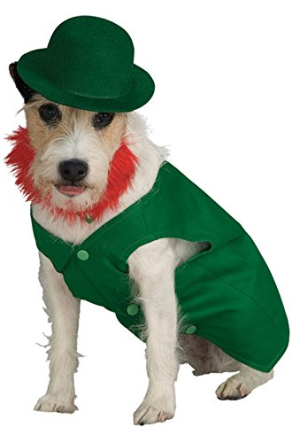 Mememall Fashion Leprechaun Saint Patrick's Day Pet Dog Costume (Toddler Leprechaun Costume Boy)