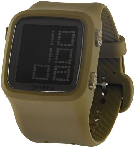 a55f0c8ee692 Buy Converse Unisex VR002305 Scoreboard Icon Olive Green Digital Watch  Online at Low Prices in India - Amazon.in