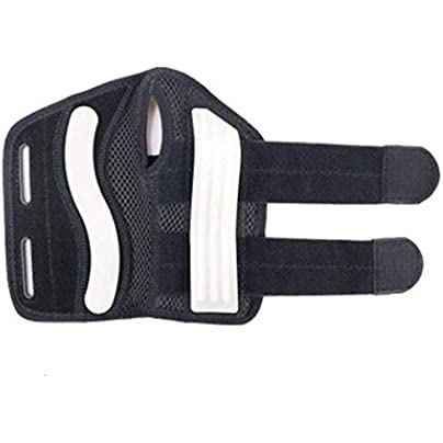 jelyndm Wrist Bracers 2-way Compression Wristband Stability Support Plastic Plate Wristband for Fracture Mouse Hand Sprain Rehabilitation Left Estimated Price £10.98 -