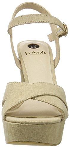 La Strada Women's 906603 Closed Toe Heels Beige (Natural) MnSO4GJVOZ
