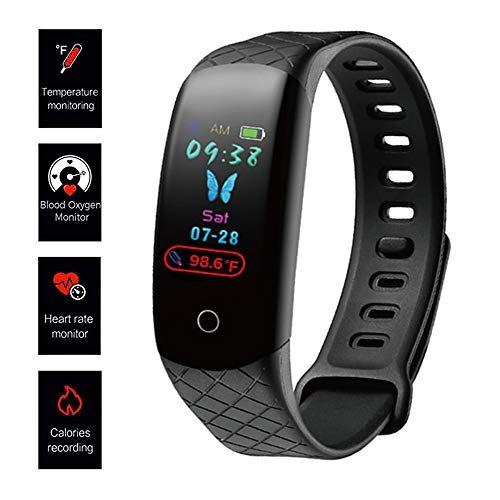 ALSEYE Fitness Tracker HR, Activity Tracker Watch with Heart Rate Monitor Sleep Monitor Blood Pressure Monitor…