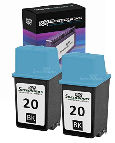 manufactured Replacement for HP 20 C6614DN Black Ink Cartridge for use in Apollo P2100U, P2200, P2300U, P2500, P2600, Deskjet 610, 610C, 610CL, 612, 612C, 630, Deskjet 630C, 632 ()