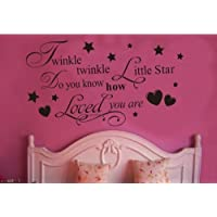 Toprate (TM) Twinkle Little Star Do You Know How Loved...