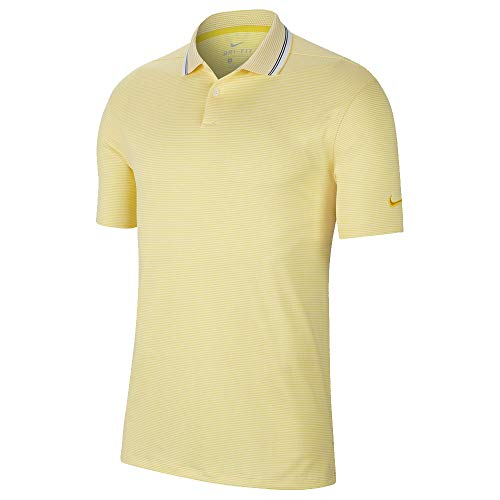 Nike Dry Fit Vapor Control OLC Golf Polo 2019 Chrome Yellow/Pure ...