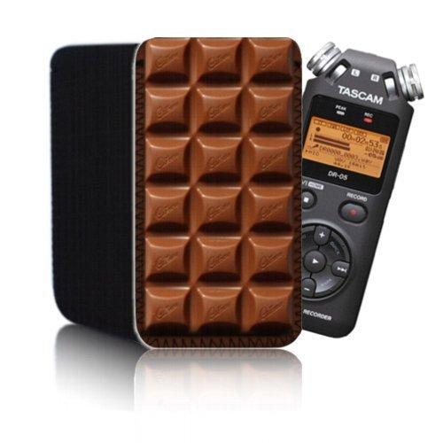 Funda de neopreno, diseño de chocolate (N2) para Tascam DR ...