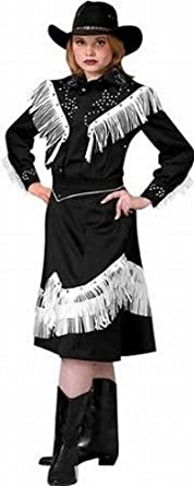 1930s Costumes- Bride of Frankenstein, Betty Boop, Olive Oyl, Bonnie & Clyde Deluxe Cowgirl Costume- Theatrical Quality $239.99 AT vintagedancer.com