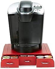 Mind Reader Gaveta de cápsulas de café RedCUP, tamanho único, vermelho 2