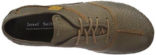Josef Seibel Fallon - zapatos con cordones de piel mujer gris - gris