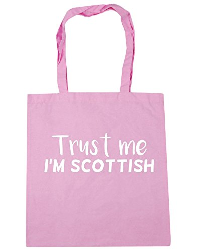 HippoWarehouse Trust Tote Scottish 42cm Classic me litres Beach 10 Gym x38cm Bag Pink Shopping I'm rqrwZI