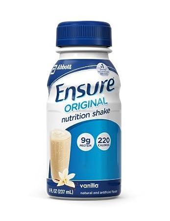 Amazon.com: Ensure Bottles, Vanilla Shake, 8oz Bottles, 32 Bottles: Health & Personal Care