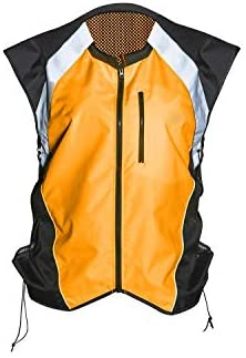 REFLECTIVE HI-VIS BRACE YELLOW CYCLE MOTORCYCLE RIDER SAFETY ESSENTIAL