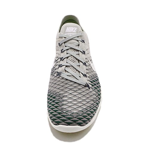 Nike Free Tr Flyknit 2 Scarpe Da Running Da Donna Grigio Pallido / Carbone Leggero Vela