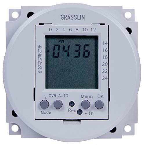 Grasslin by Intermatic FM1D20-24U 24VAC/DC 24-Hour/7-Day Electronic Timer Module