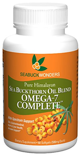 SeabuckWonders Organic Sea Buckthorn Oil Blend, Omega-7 Complete, 60 Count Softgels Review