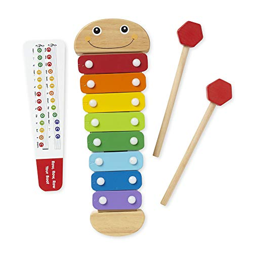 Melissa & Doug Caterpillar Xylophone, Musical Instruments,