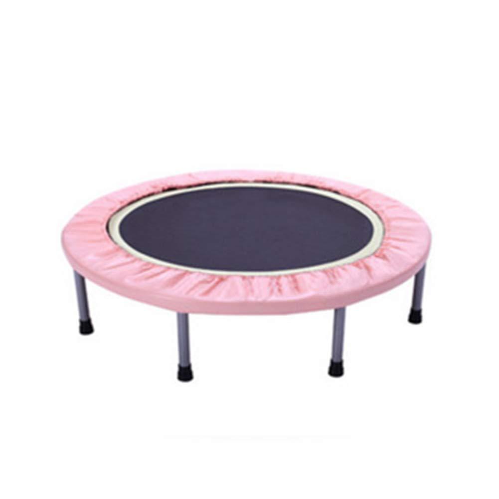 rose  équipeHommest de ConditionneHommest Physique d'intérieur de Forme Physique de sécurité de Trampoline de 38 Pouces pour Adultes et Dispositif de Perte de Poids de Gymnase d'enfant