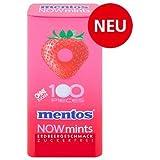 Mentos Now Mints Erdbeere 12 x 50g Metaldose