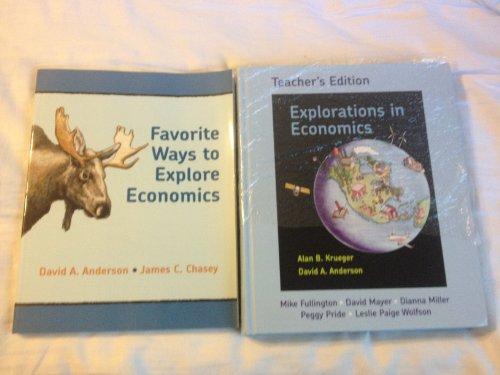 Explorations in Economics Teacher's Edition