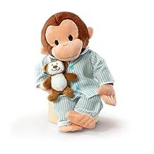 "Russ Berrie Curious George In Pajamas 12"" Plush"