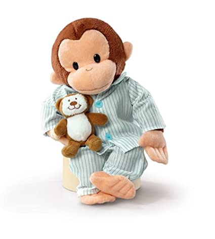 Image Unavailable. Image not available for. Color  Russ Berrie Curious  George In Pajamas 12 quot  Plush 8260c348d