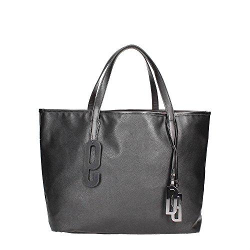 Woman Nuber Borsa Bag Bikkembergs Black Ew Shopper Shopping Db Small D0901 Donna 6xWnW1YR