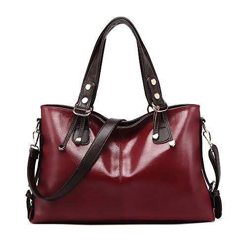 Red Satchel Handbags - 7