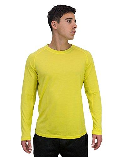 Jual Woolx Men s Essential Tee - Lightweight Merino Wool Shirt For ... 2cb1c0f4b