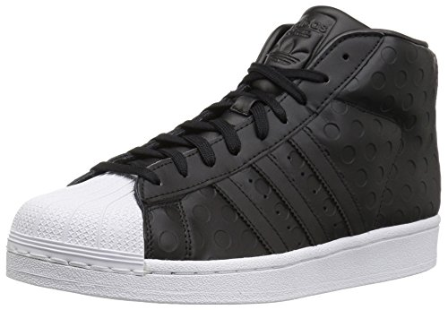 adidas Originals Women's Pro Model Running Shoe, Black/White, ((8.5 M US)