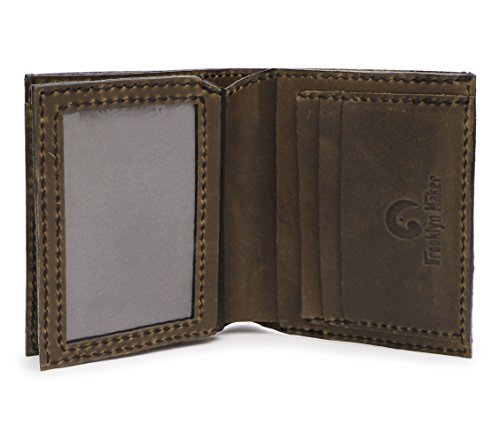 Lion d Handmade Natural 04 Men's Genuine Lion Tatoo Leather MHLT Wallet 8 Tatoo Style Style T1FqvqwAn