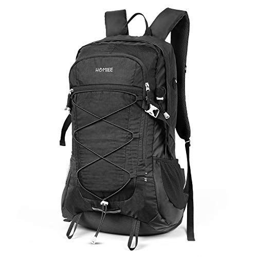 12f47c39e0f7 HOMIEE Trekking Bag, 45L Hiking Backpack Nylon with Laptop Pocket for  Climbing Camping Mountaineering Travel Outdoor Sport- Stylish Unique ...