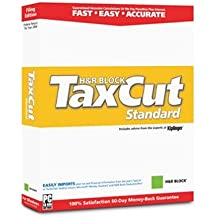 2003 TaxCut Standard Federal Filing Edition From H&r Block