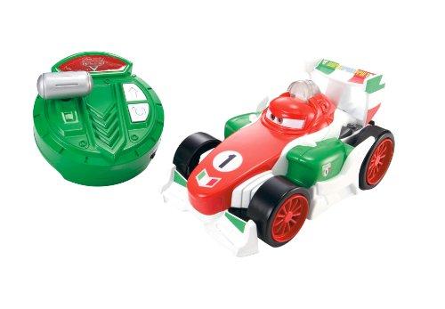 Mattelマテル製 ディズニー・カーズ・フランチェスコ スピード調整機能付き ラジコン(RC)