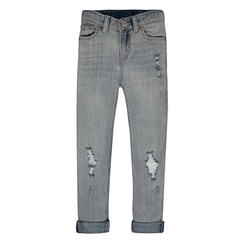 Levis Girls Distressed Boyfriend Jeans