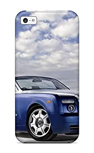 Iphone Case - Tpu Case Protective For Iphone 5c- Rolls Royce Wraith Drophead Background